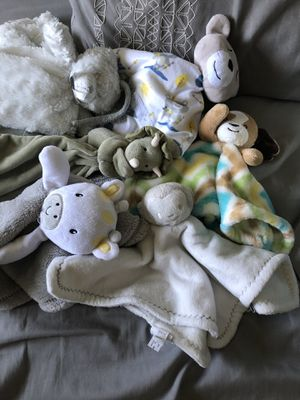 Baby toy blankets for Sale in Riverside, CA