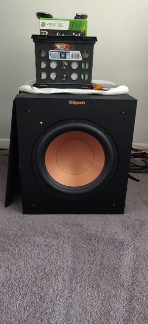 Klipsch 10in subwoofer for Sale in Lyons, IL