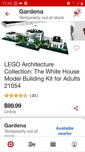 "LEGOS ARCHITECTURE COLLECTION "" THE WHITE HOUSE "" BRAND NEW NEVER USED/OPENED STILL FACTORY SEALED for Sale in Los Angeles, CA"