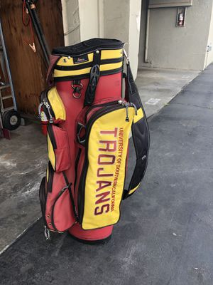USC TROJANS GOLF BAG for Sale in Downey, CA