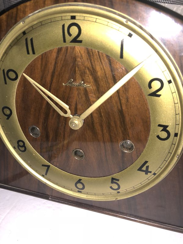 Antique Mauthe made in Germany mantle clock