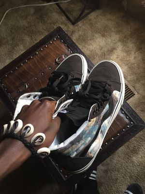 Galaxy print high-top vans {RARE} for Sale in Raleigh, NC