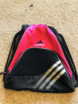 NEW Adidas Draw String Backpack - Pink for Sale in Gaithersburg, MD