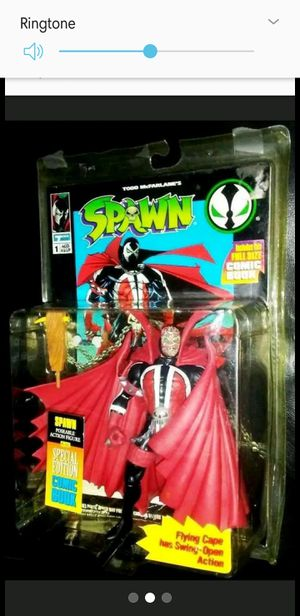 Spawn Original #1 Figure w/Special edition comic inside (NIB) (RARE & HARD TO FIND) for Sale in Woodbine, MD