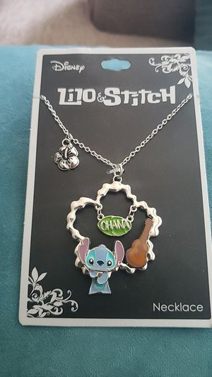 Lilo&Stitch charm necklace for Sale in San Diego, CA
