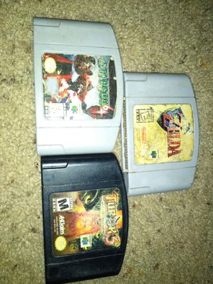 Games nintendo 64 for Sale in Austin, TX