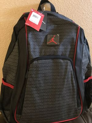 New Nike Jordan Backpack with laptop storage $38 for Sale in North Las Vegas, NV