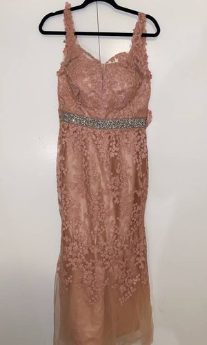 Pink Floral lace dress S/M (Custom Made and Never Worn) for Sale in Silver Spring, MD