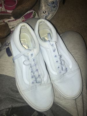 Light Blue Vans Size 7 for Sale in Indiana, PA
