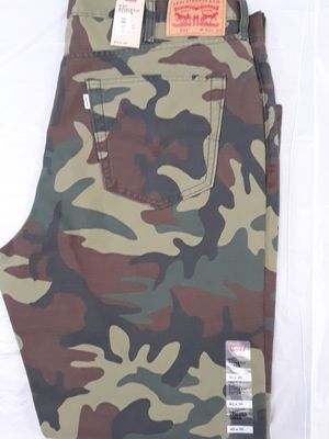 Brand new 541 athletic taper camouflage Levi's for Sale in Alameda, CA