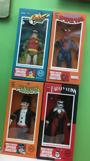 Medicom toy DC Comic retro sofubi collection for Sale in Brooklyn, NY
