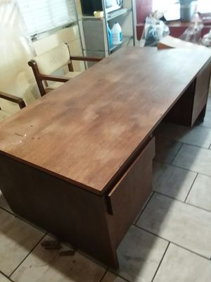 Huge hardwood handmade desk for Sale in Wichita, KS
