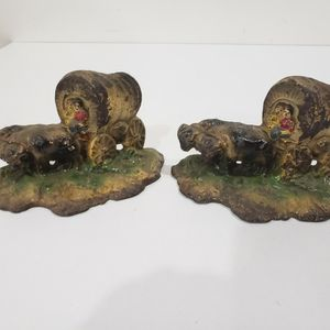 Pr. of Cast Iron Bookends for Sale in Wayzata, MN