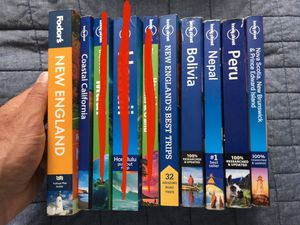 Lonely Planet travel guides books for Sale in San Francisco, CA