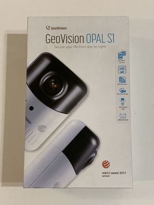 Geovision OPAL S1 Plus 4MP IR Wireless Fisheye IP Security Camera - Cloud Storage for Sale in Fountain Valley, CA