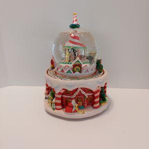 Disney Nightmare Before Christmas Music Snow globe Christmas Town for Sale in Elk Grove, CA