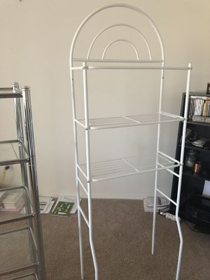 Over-toilet storage shelving for Sale in Delmar, NY
