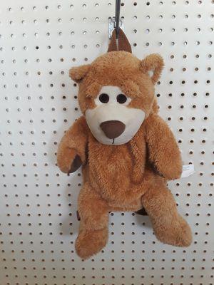 * STUFFED BEAR BACKPACK * for Sale in Hesperia, CA