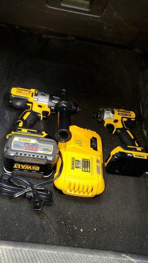 Dewalt xr brushless flexvolt drill set for Sale in Wellford, SC