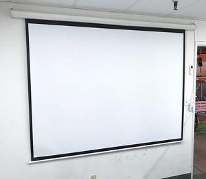 "(New in box) $55 Electric 100"" 4:3 Projector Screen Auto w/ Remote Control 80""x60"" for Sale in Whittier, CA"