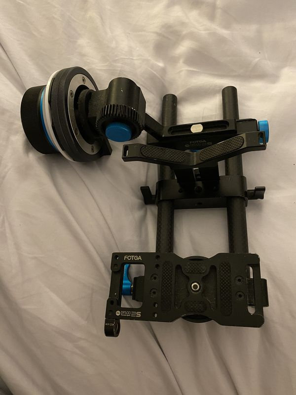 Fotga DP500 2s Camera Rig with follow focus dlsr