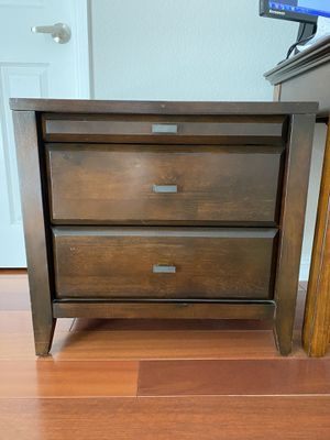 hardwood nightstand/chest for Sale in Arcadia, CA