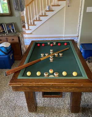 Antique Bumper Pool Table for Sale in Los Gatos, CA