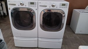 LG washer and steam gas dryer for Sale in San Marcos, CA