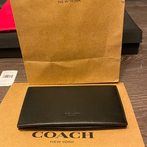 Authentic Coach Men's Wallet for Sale in Round Rock, TX