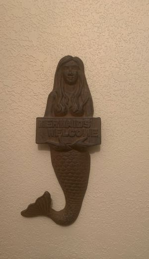 Mermaid wall decor for Sale in Riverview, FL