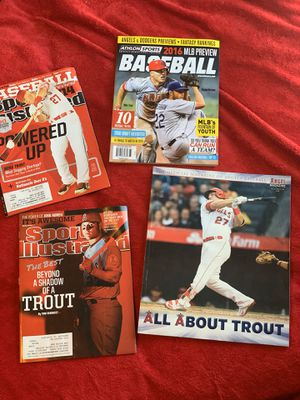 Mike Trout Magazines for Sale in Irvine, CA