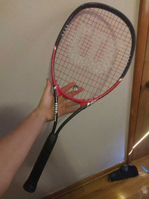 Wilson tennis racket 4 3/8 fusion XL for Sale in Sedgwick, KS