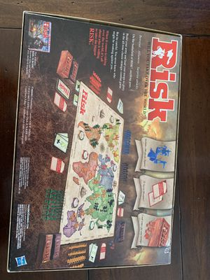 RISK Strategic Conquest Board Game 2015 Edition Open-Box Used Very Good Conditio for Sale in Joint Base Lewis-McChord, WA