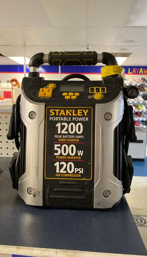Stanley portable power & 120 psi air compressor for Sale in Houston, TX