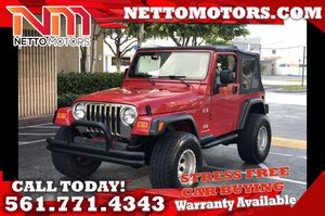 2004 Jeep Wrangler for Sale in West Palm Beach, FL