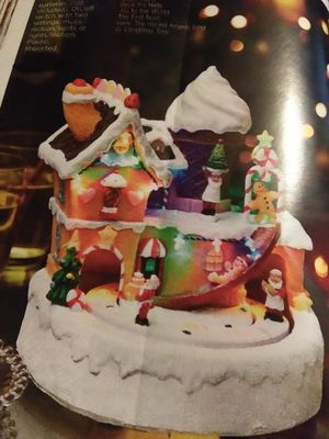 Gingerbread House Scene for Sale in Greenville, SC