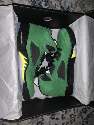 Jordan 5 Apple Green/ Oregon Size 11.5 for Sale in Falls Church, VA