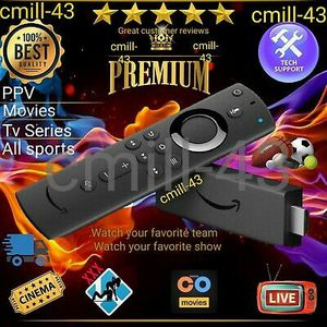 Amazon Firestick 4K Premium with Alexa Enabled Remote for Sale in Brockton, MA