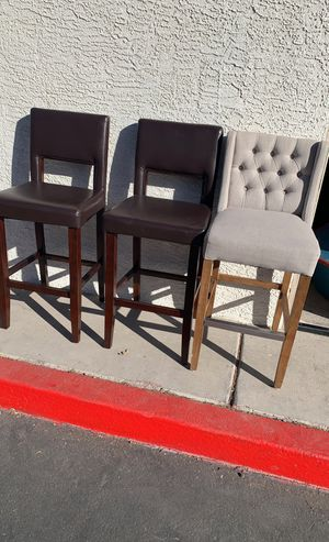 Three Bar Stools for Sale in Henderson, NV