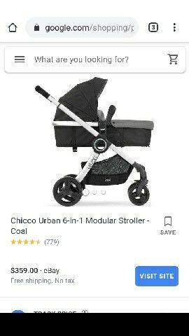 Chicco urban 6 in 1 Stroller for Sale in Jurupa Valley, CA