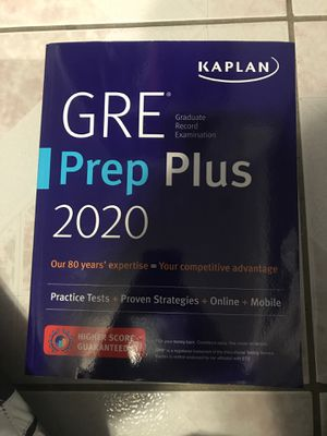 GRE Prep Plus, 2020 for Sale in Queens, NY