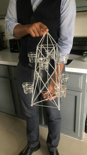 Candles Holder size 16 inches high for Sale in Orlando, FL