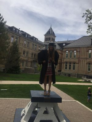 Black graduation gown for Sale in Price, UT
