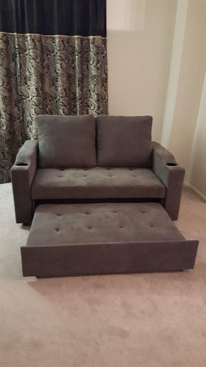 Brand new sleeper sofa (sofa with pullout bed) for Sale in Silver Spring, MD