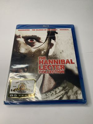 The Hannibal Lecter Collection Blu Ray set brand new horror movies for Sale in King of Prussia, PA