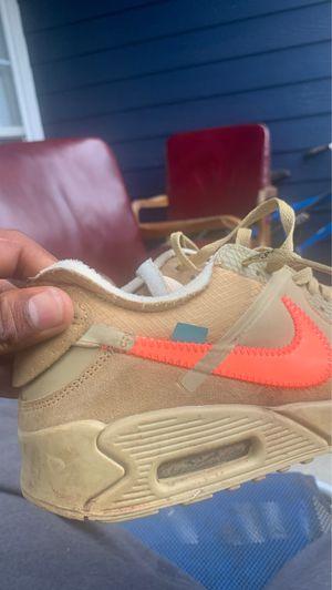 Nike air max 90 desert ore Off-white for Sale in GA, US