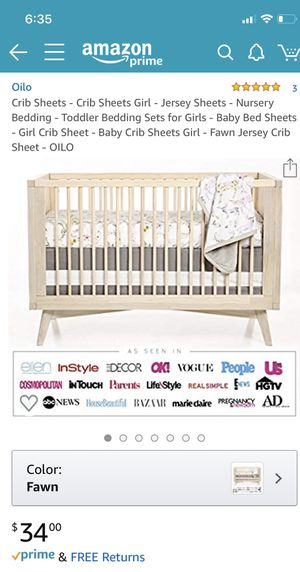 Baby crib sheet for Sale in San Mateo, CA