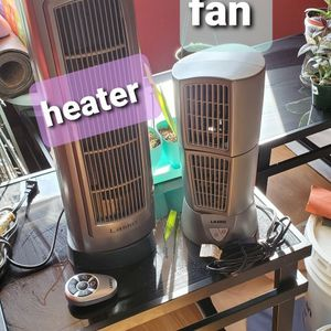Tower Tabletop Fan And Tower Heater for Sale in Escalon, CA