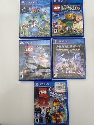PS4 Games- for Sale in Renton, WA