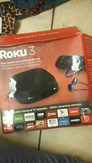 Roku 3 for Sale in Saint Charles, MO